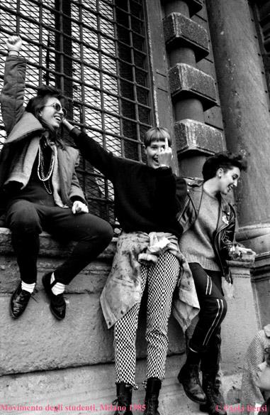 Movimento degli studenti 1985
