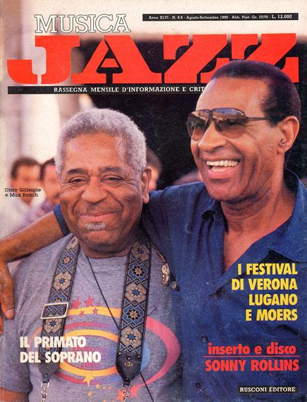 Max Roach e Dizzy Gillespie 1990